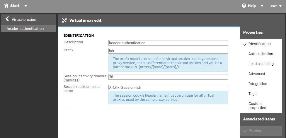 Using Header Authentication in Qlik Sense | qliksite io