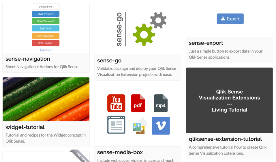 Projects | qliksite io